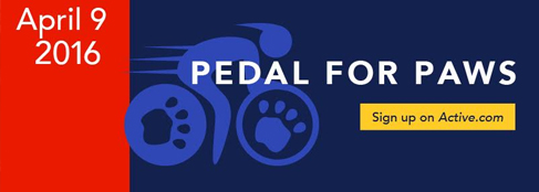 Pedal For Paws 2016 - click for more